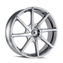 Mazzi 369 Kickstand Chrome 22x9.5 6-135/6-139.7 30mm 106mm