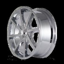 Mazzi 369 Kickstand Chrome 20x8.5 5-112/5-120 35mm 74.1mm