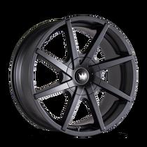 Mazzi 369 Kickstand Matte Black 24x9.5 5-115/5-120 18mm 74.1mm