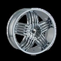 Mazzi 368 Entice Chrome 20X8.5 6-135/6-139.7 30mm 106mm