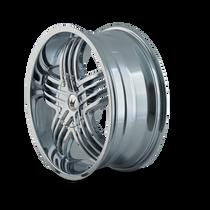 Mazzi 368 Entice Chrome 24X9.5 5-115/5-139.7 18mm 87mm