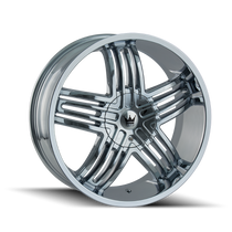 Mazzi 368 Entice Chrome 24X9.5 6-135/6-139.7 30mm 106mm