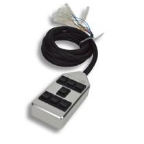AVS ARC-7 Air Ride Billet Rocker Switch Box