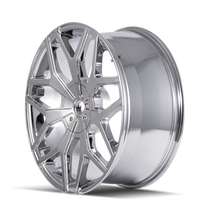 Mazzi 367 Profile Chrome 22x9.5 5-115/5-139.7 18mm 87mm