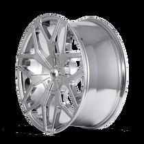 Mazzi 367 Profile Chrome 22x9.5 5-115/5-139.7 18mm 87mm