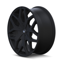 Mazzi 367 Profile Matte Black 20x8.5 5-115/5-120 18mm 74.1mm