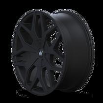 Mazzi 367 Profile Matte Black 20x8.5 5-110/5-115 35mm 72.62mm