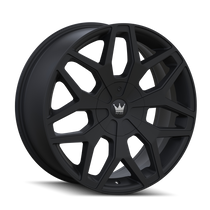 Mazzi 367 Profile Matte Black 24x9.5 5-115/5-120 18mm 74.1mm