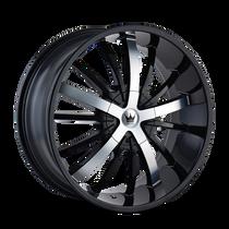 Mazzi 364 Essence Gloss Black / Machined Face 22X9.5 5-114.3/5-120 35mm 74.1mm