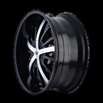 Mazzi 364 Essence Gloss Black / Machined Face 20X8.5 5-108/5-114.3 35mm 72.56mm