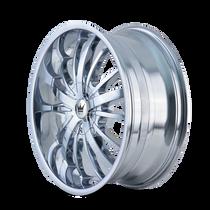 Mazzi 364 Essence Chrome 20X8.5 5-110/5-115 35mm 72.56mm