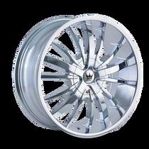 Mazzi 364 Essence Chrome 24X9.5 5-115/5-120 18mm 74.1mm