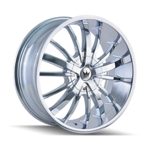 Mazzi 364 Essence Chrome 22X9.5 5-115/5-120 18mm 74.1mm