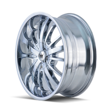 Mazzi 364 Essence Chrome 22X9.5 5-114.3/5-120 35mm 74.1mm