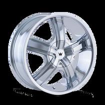 Mazzi 359 Boost Chrome 20X8.5 5-108/5-114.3 35mm 72.62mm