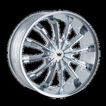 Mazzi 341 Fusion Chrome 22X9.5 5-127/5-139.7 18mm 87mm