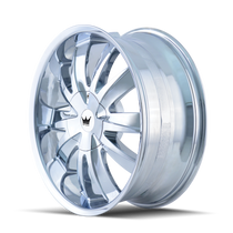 Mazzi 337 Edge Chrome 22X8.5 5-110/5-115 35mm 72.56mm