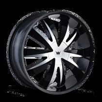 Mazzi 337 Edge Gloss Black/Machined Face 18X7.5 5-100/5-105 40mm 72.62mm