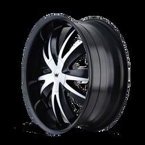 Mazzi 337 Edge Gloss Black/Machined Face 18X7.5 5-108/5-114.3 40mm 72.62mm