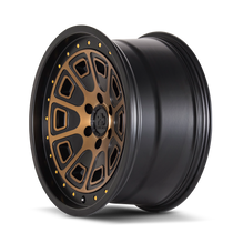 Mayhem Flat Iron Matte Black w/ Bronze Tint 20x9 6-139.7 0mm 106mm