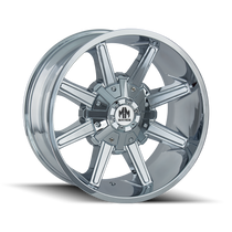 Mayhem Arsenal 8104 Chrome 17X9 8-165.1/8-170 -12mm 130.8mm