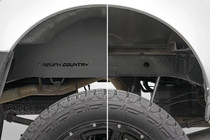Nissan Frontier Steel Rear Wheel Well Liners (05-18 | Crew Cab)