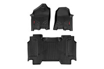 Heavy Duty Floor Mats (Front/Rear)(2019 Dodge Ram 1500)Bucket Seat without Factory Under Seat Storage