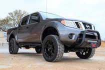 Nissan Bull Bar w/LED Light Bar | Black (05-19 Frontier)