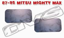 87-95 Mits Mighty Max/Dodge D-50 AVS Shaved Door Handle Filler Plate
