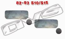 1982 to 1993 Chevy S10 Shaved Door Handle Filler Plates
