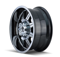 Mayhem 8100 PVD2 Chrome 22X10 8-180 -19mm 124.1mm