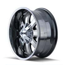 ION 189 PVD2 Chrome 18X9 8-165.1/8-170 -12mm 130.8mm