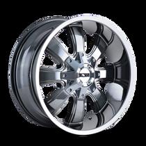 ION 189 PVD2 Chrome 17X9 5-127/5-139.7 -12mm 87mm
