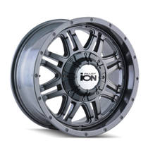 ION 186 Gunmetal 18X9 8-165.1/8-170 -12mm 130.8mm