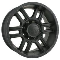 Ion 179 Matte Black 16X8 8-170 10mm 130.8mm