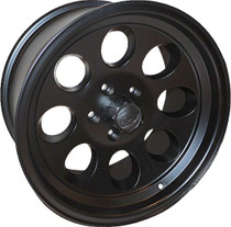 Ion 171 Matte Black 17X9 5-127 0mm 83.82mm