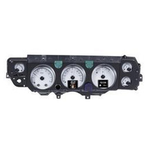 70- 72 Chevy Chevelle SS/Monte Carlo/El Camino & 71 GMC Sprint SP HDX Instruments with Silver Alloy background