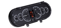1963- 65 Chevy Nova HDX Instruments with Black Alloy background