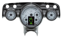 1957 Chevy Car HDX Instruments with Silver Alloy background (BEZEL NOT INCLUDED)