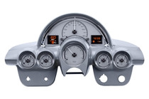 1958- 62 Chevy Corvette HDX Instruments with Silver Alloy background (BEZEL NOT INCLUDED)