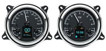 1947- 53 Chevy/ GMC Pickup HDX Instruments with Black Alloy background