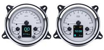 1947- 53 Chevy/ GMC Pickup HDX Instruments with Silver Alloy Background