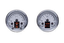 """Universal Dual 5.4"""" Round, Analog HDX Instruments with Silver Alloy background"""