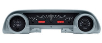 1963- 64 Ford Galaxie VHX Instruments Black and Red