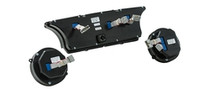 1963- 64 Ford Galaxie VHX Instruments back view