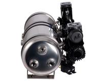 Dual-OB2 Black Flex Kit With 5 Gallon Tank - side view
