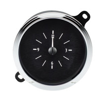 1941-48 Chevy Car Analog Clock Black Alloy Background