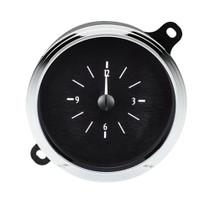 1942-48 Ford Car Analog Clock Black Alloy Background