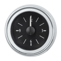 1951-52 Chevy Car Analog Clock Black Alloy Background