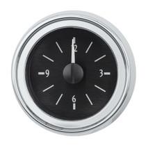 1951-52 Chevy Car Analog Clock Black Alloy Background